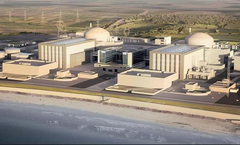 hinkley artist's impression
