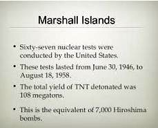marshall islands tests