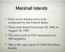 marshall islands tests