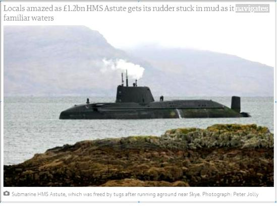 n submarine astute