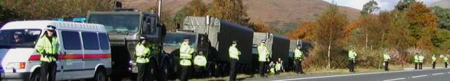 nuclear 2convoys near Loch Lomond